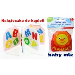 BABY MIX Książeczka do kąpieli ALFABET, LITERKI