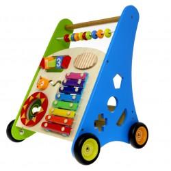 Baby Mix Drewniany wózek edukacyjny