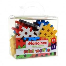 POLSKIE Klocki Mini Waffle Wafle Marioinex 35el.