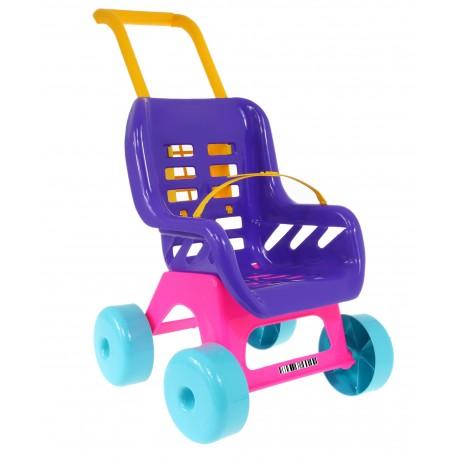 Solidny Wózek dla lalek. lalkowy. Wysokość 50 cm