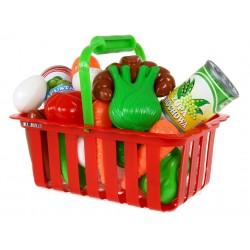 Koszyczek Koszyk z zakupami warzywami WARZYWA PL