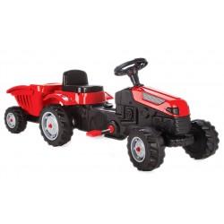 TECHNO SMART Traktor Traktorek na pedały PRZYCZEPA