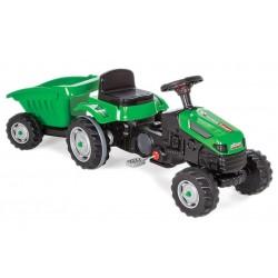 TechnoSmart Traktor Traktorek na pedały PRZYCZEPKA