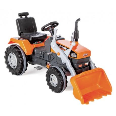 Techno Smart MEGA Traktor KOPARKA na pedały (297)