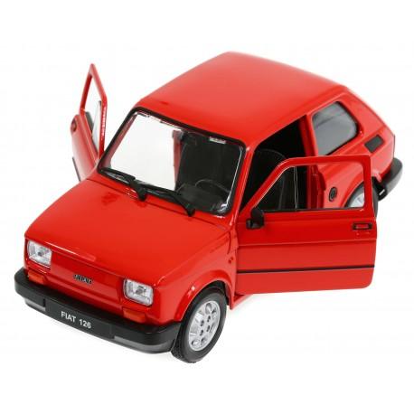 MODEL METALowy Fiat 126 Maluch SKALA 1:21 WELLY