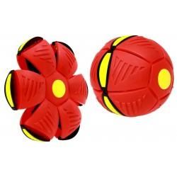 Piłka składana. Piłka Dysk DUŻA Dyskopiłka RED