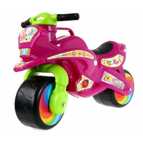 Solidny POLSKI Motorek Rowerek Biegowy NGX1 FLOWER