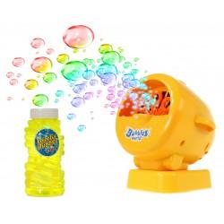 Aparat Maszyna do robienia baniek mydlanych +PŁYN żółty