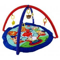 Baby Mix Mata edukacyjna KARUZELA + zabawki