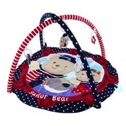 Baby Mix Mata edukacyjna MARYNARZ + PAŁĄK Zabawki