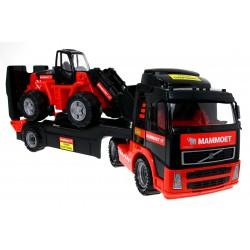 VOLVO FH12 Ciężarówka MAMMOET GABARYT KOPARKA 90cm