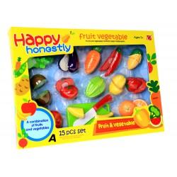 Owoce Warzywa DO KROJENIA na rzep Bezpieczne 27el