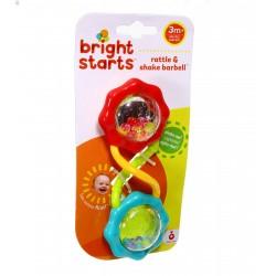 Bright Starts Podwójna grzechotka Gryzak BS 8188