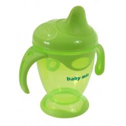 Baby Mix KUBEK NIEKAPEK 200ml Butelka Ziel.