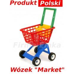 POLSKI WÓZEK Marketowy, koszyk  MARKET