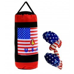Worek bokserski treningowy dla dzieci BOKS USA BIG