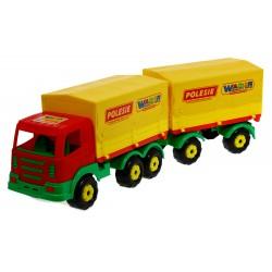 WADER 44174 PRESTIŻ Ciężarówka z przyczepą PLANDEK