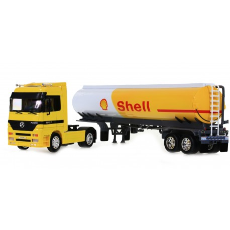 Welly Model 1:32 Mercedes Benz Actros 1857 Shell