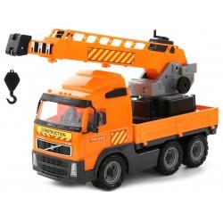 WADER 8824 Auto Ciężarówka VOLVO FH12 Dźwig 80cm !