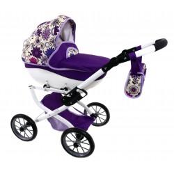 DUŻY POLSKI Wózek dla lalek lalkowy MEGA SOLIDNY !