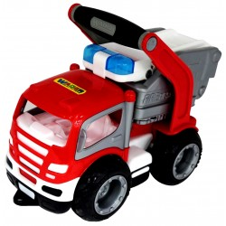 WADER 0872 Grip Trucks STRAŻ POŻARNA Gumowe koła !