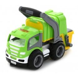 WADER 6257 Grip Trucks ŚMIECIARKA Gumowe koła !