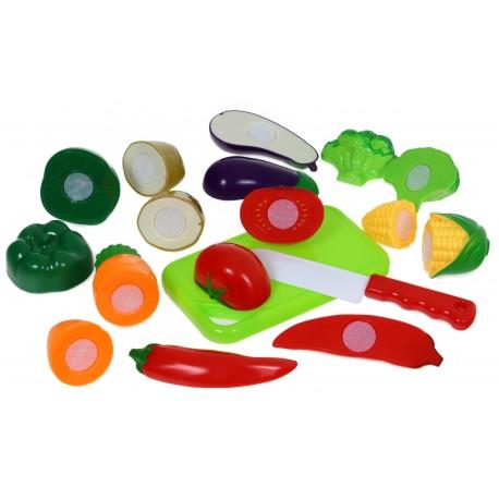 Warzywa Owoce DO KROJENIA na rzep Bezpieczne 18el