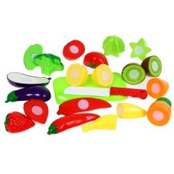 Warzywa Owoce DO KROJENIA na rzep Bezpieczne 22el