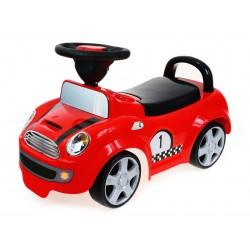 SUPER RACER Pojazd Jeździk dla dzieci. GUMOWE KOŁA