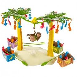 Mattel Gra rodzinna Spadające Małpki BANANA BANDIT