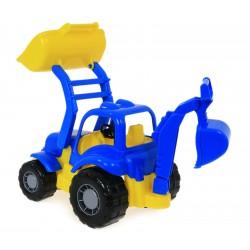 Traktor OSIŁEK z Ładowarką KOPARKA Polesie 44785