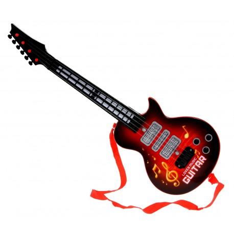 Gitara elektryczna Elektroniczna Dźwięk Światła !