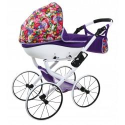 DUŻY Solidny POLSKI Wózek dla lalek lalkowy RETRO