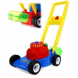 Zabawkowa KOSIARKA z koszem dla DZIECI + GRATIS PL
