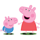 Świnka PEPPA Pilot TV Telewizyjny dla dziecka 6m+