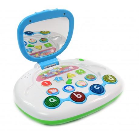 Świnka PEPPA Laptop Interaktywny dla dzieci POLSKI