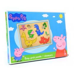 Świnka Peppa PUZZLE Drewniane DREWNO KLOCKI