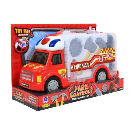 STRAŻ POŻARNA Interaktywna ciężarówka + AKCESORIA