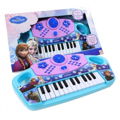 Kraina Lodu FROZEN Pianinko Keyboard + NAGRYWANIE