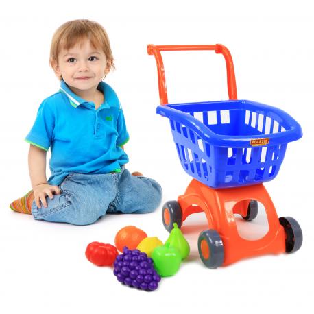POLESIE 71378 Wózek marketowy sklepowy na zakupy