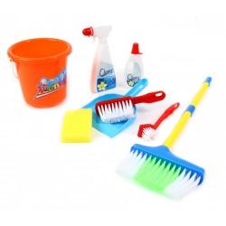 Zestaw do sprzątania dla dzieci Wiaderko akcesoria