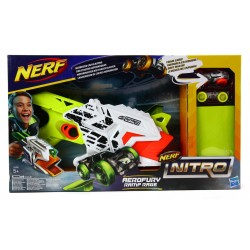 NERF Nitro E0408 wyrzutnia SAMOCHODÓW 2 Autka!