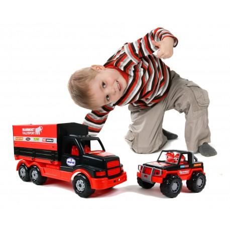 POLESIE Ciężarówka Mammoet samochód z plandeką