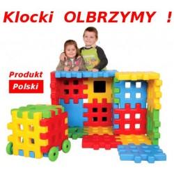 OGROMNE KLOCKI WAFLE, Produkt POLSKI na Plac Zabaw