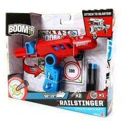 Mattel BOOMco Railstinger  Pistolet na strzałki