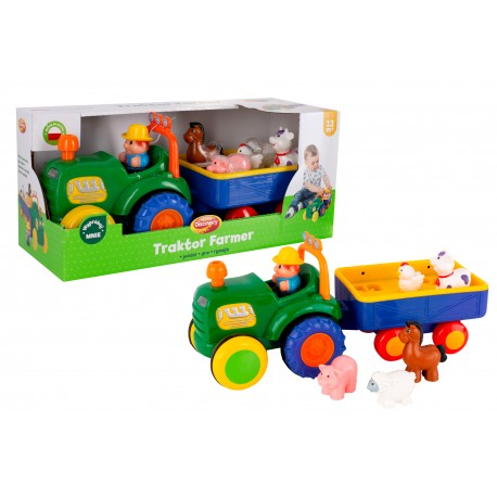 DUMEL Traktor FARMER Interaktywny. PO POLSKU !