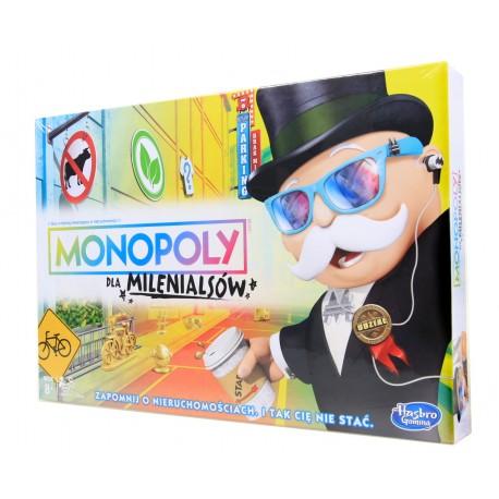 Gra towarzyska MONOPOLY DLA MILENIALSÓW Hasbro