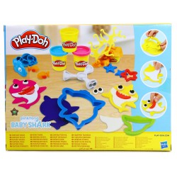 Play-Doh Ciastolina Baby Shark Foremki+12kubeczków