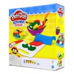 Play-Doh Ciastolina KUCHNA foremki+6 kubeczków