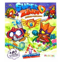 SUPER ZINGS Seria 5  Saszetka z Figurką Figurka